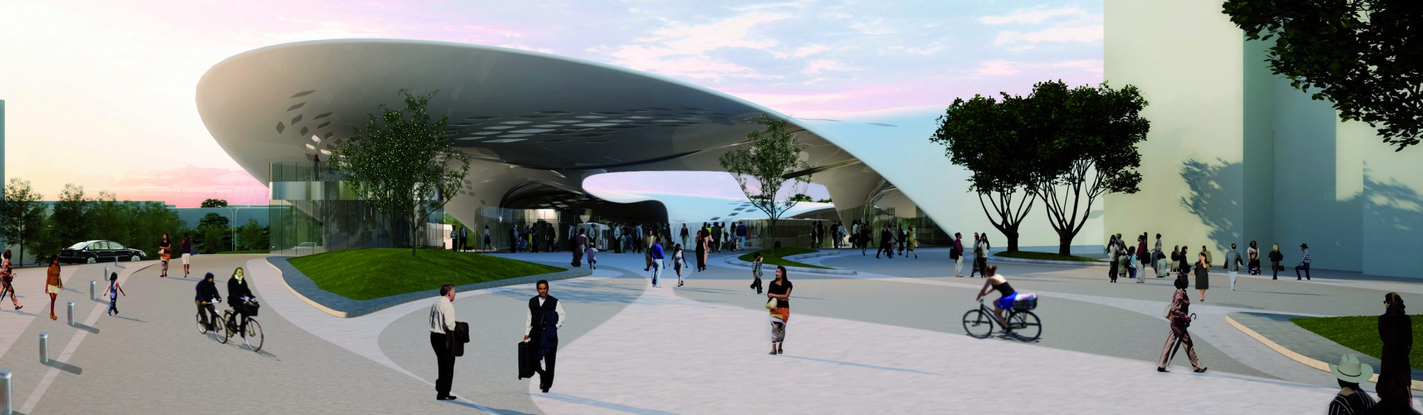 Stoke Bus Station Competition