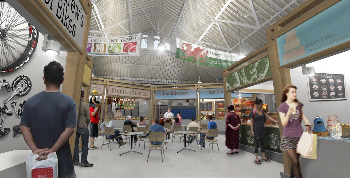 Pontypool Market Hall