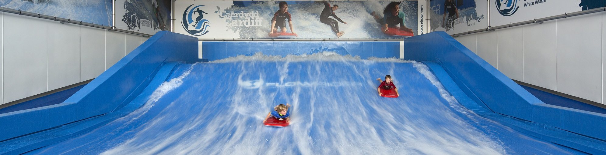 Cardiff International White Water Surf Facility