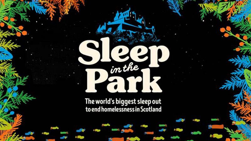 Why am I sleeping in the park?