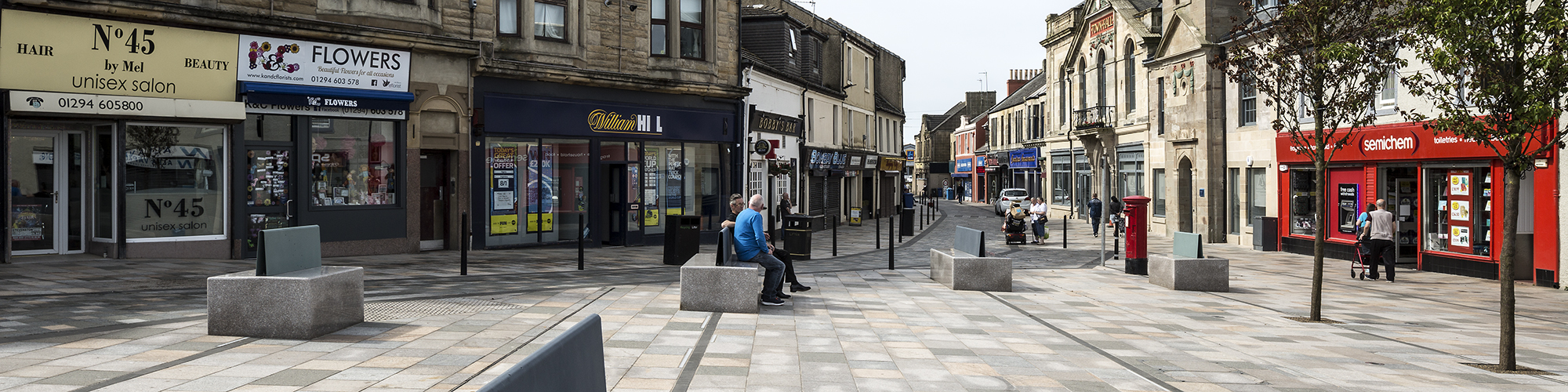 Countess Street Saltcoats public realm