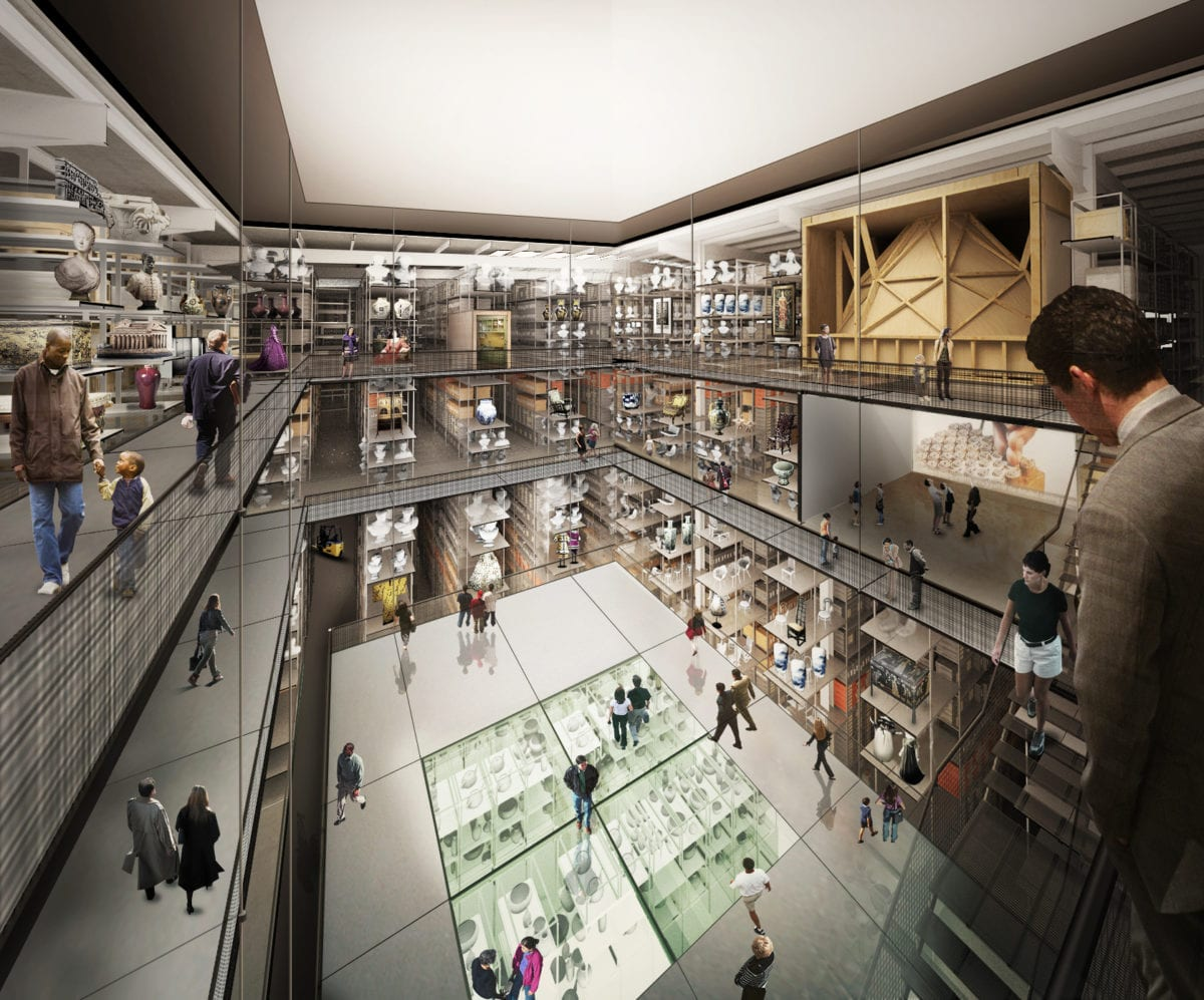 V&A East plans unveiled including a new Collection and Research Centre by Diller Scofidio + Renfro with Austin-Smith:Lord