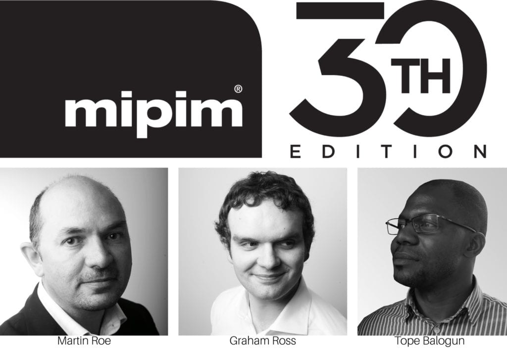 MIPIM Logo and faces