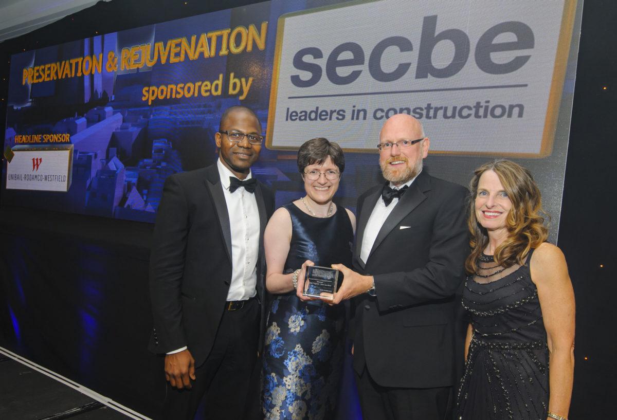 Kew Gardens Great Pagoda wins Constructing Excellence SECBE Award