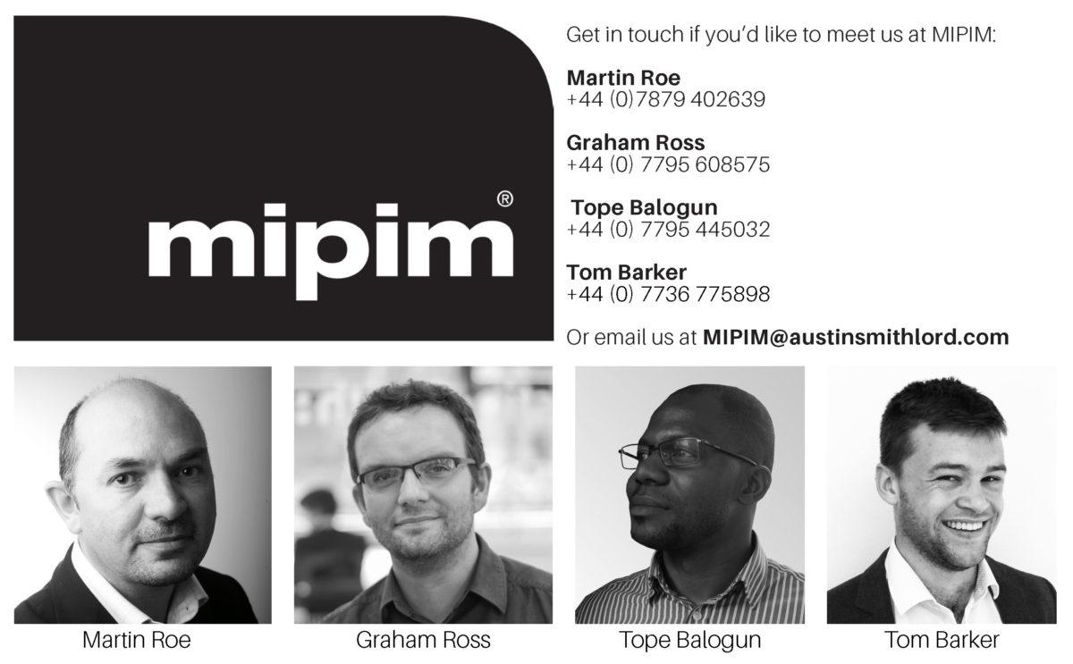 Meet Austin-Smith:Lord at MIPIM 2020