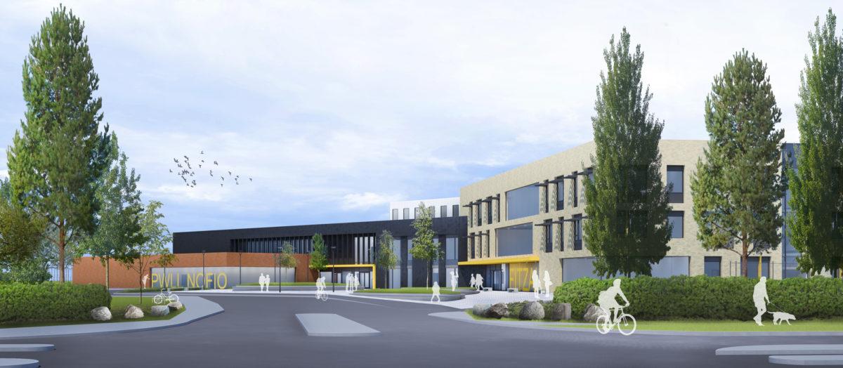 Next milestone in the development of new Fitzalan High School