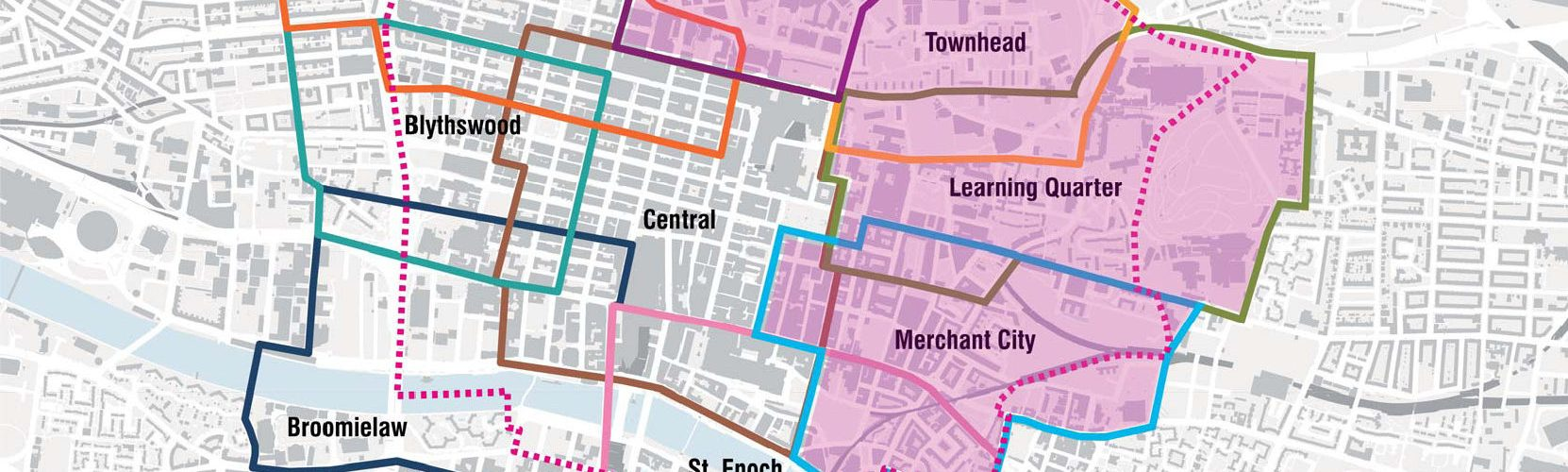 (Y)our City Centre Districts Base Map