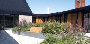 Therapeutic Landscapes Completed At New Stobhill Mental Health Facilities Austin Smith Lord