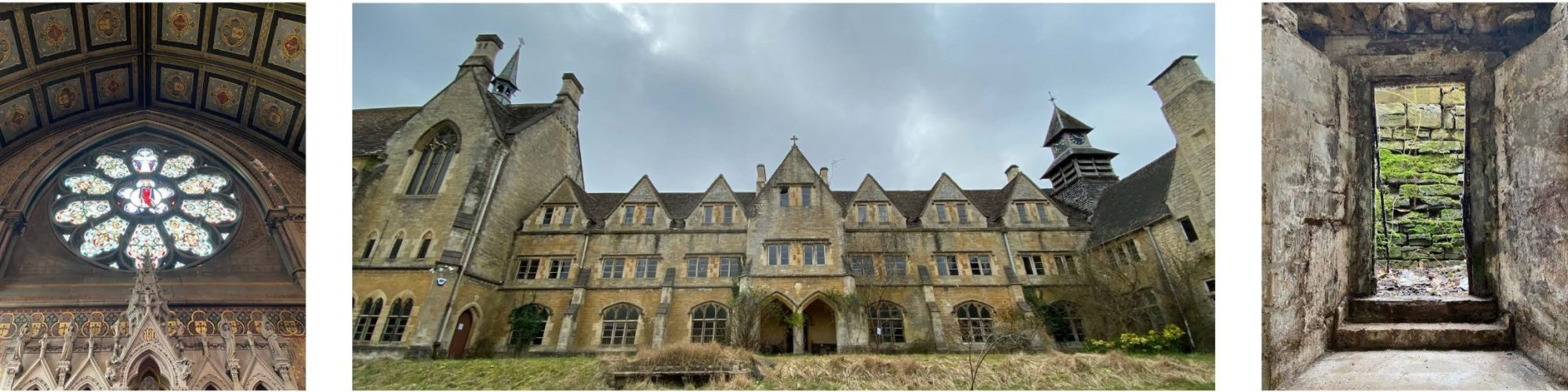 Woodchester Convent collage cropped